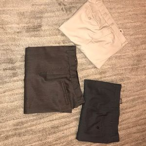 3 pair of dress pants 34/30.